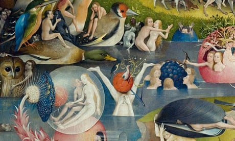 Bosch's Garden of Earthly Delights shows a world waking up to the future