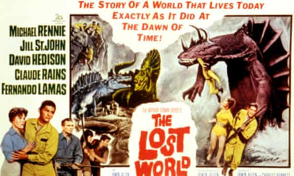 The 1960 adaptation of The Lost World.