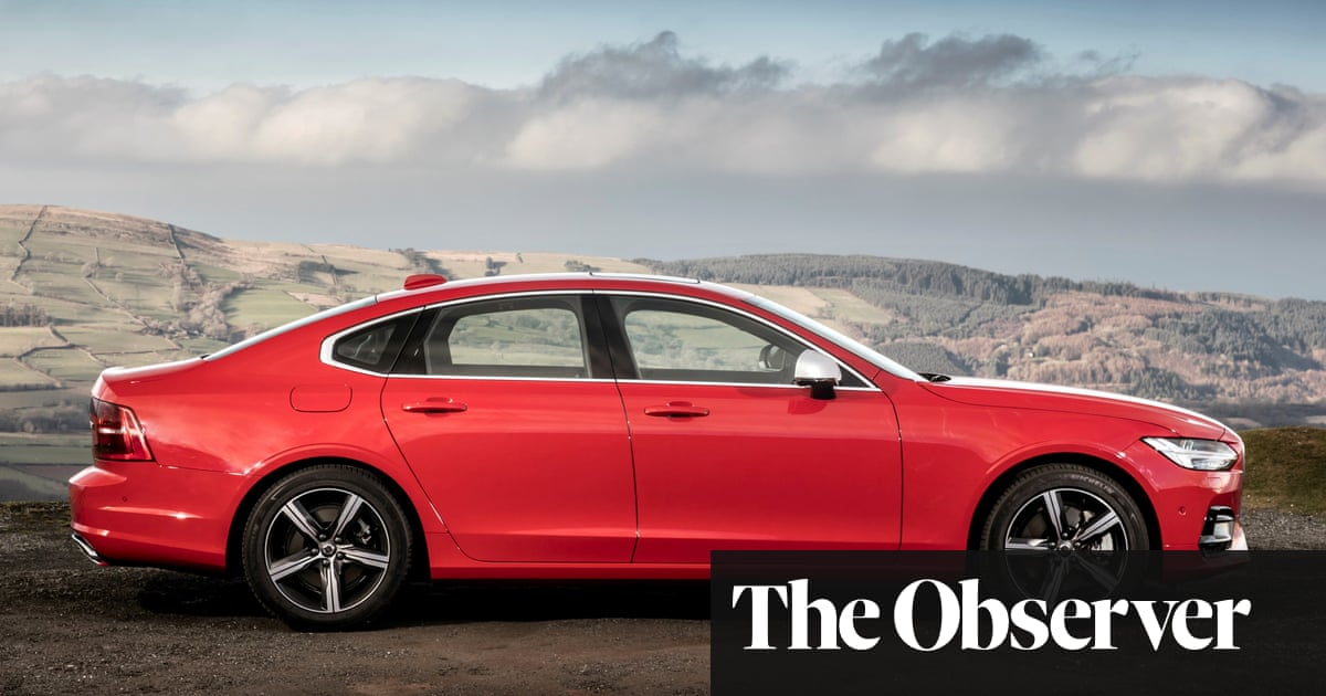 Volvo S90 R-Design review: 'A pervy Swedish muscle car' | Martin