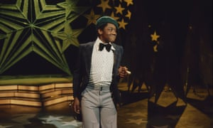 Lenny Henry does his Frank Spencer impression on New Faces in 1975