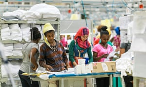 The report praises Ethiopia, saying that its successful economic growth is due to a decision to target specific sectors for support.