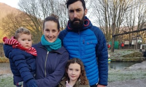 Ellie Russell, Colin Stratton and their two children moved to Southend.