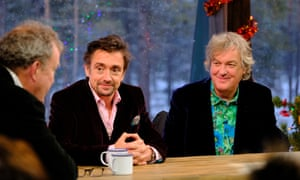 The man must be stopped … Richard Hammond is the show's Mansplainer In Residence.