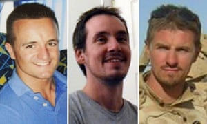 Craig Roberts, Edward Maher and James Dunsby died after taking part in an SAS training exercise at Pen y Fan in the Brecon Beacons.