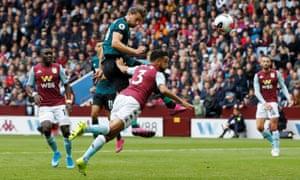 Jay Rodriguez's bonce gives Burnley their equaliser.