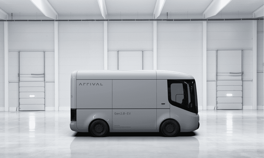 Arrival describes its vans as 'generation 2 electric vehicles'.