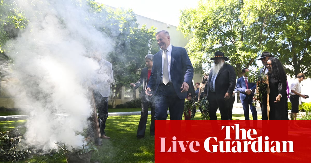 Albanese backs anthem change; federal Icac under fire – live news – The Guardian