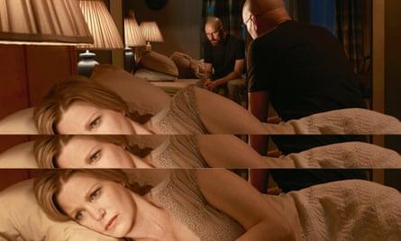 Anna Gunn and Bryan Cranston in Breaking Bad.