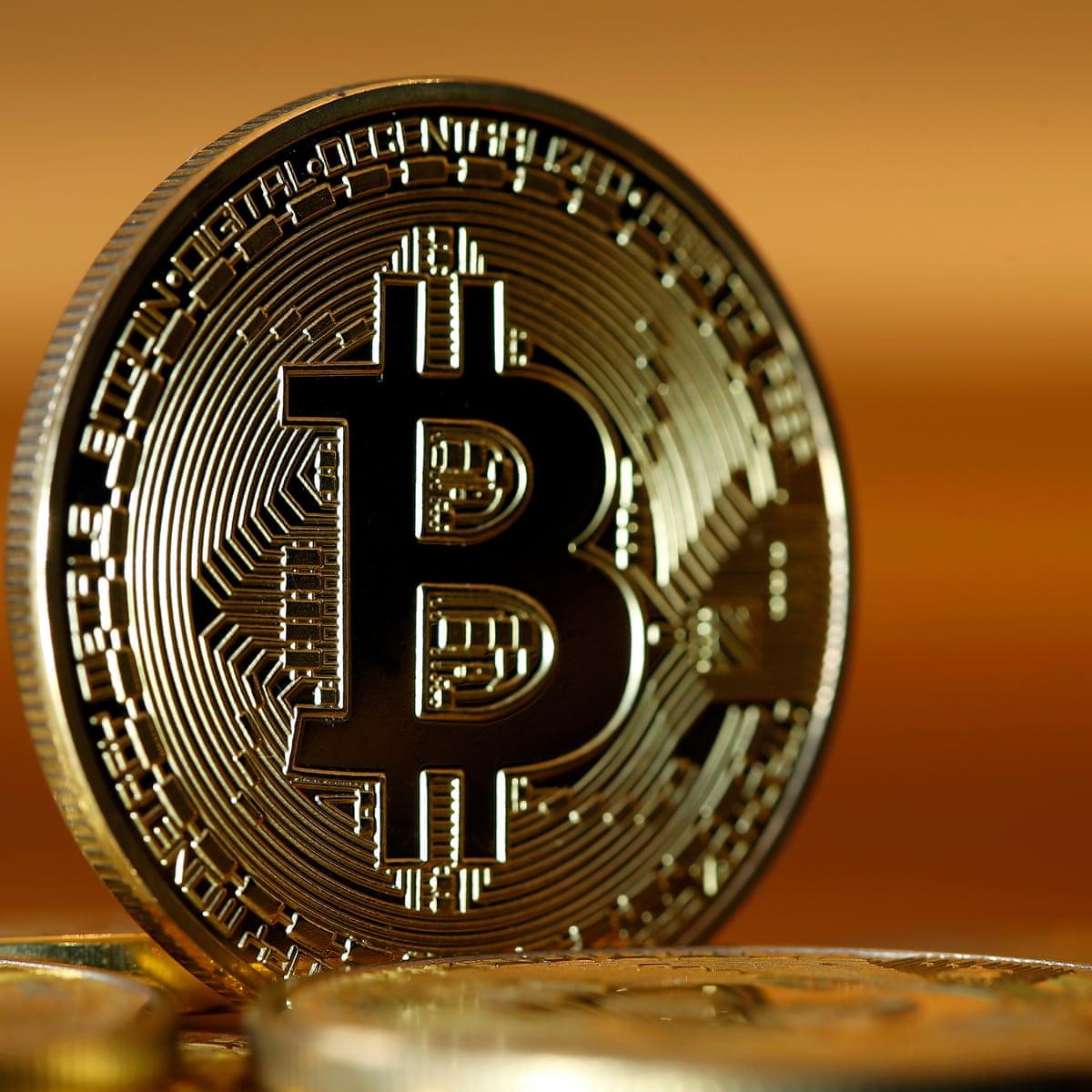 câștigând bitcoin pe un computer