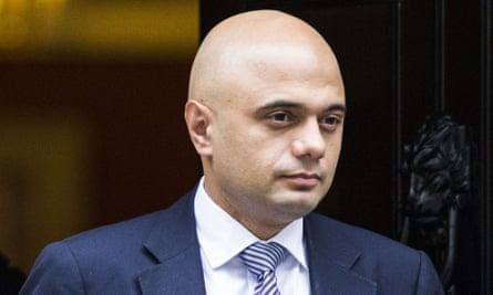 Sajid Javid, the business secretary.