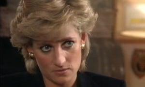 Princess Diana in the 1995 documentary Panorama.