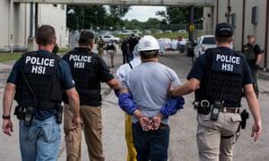 Homeland Security Investigations (HSI) special agents arrested alleged immigration violators at Fresh Mark, Salem on 19 June 2018.
