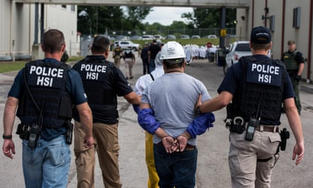 Homeland Security Investigations (HSI) special agents arrested alleged immigration violators at Fresh Mark, Salem on 19 June 2018.