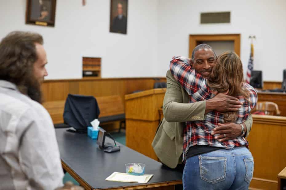 The Washington County Drug Court graduation ceremony for Maria Kestner