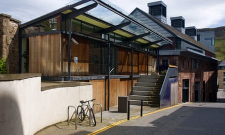 The Scottish Poetry Library's headquarters in Edinburgh.