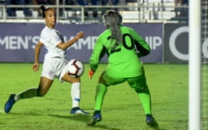 Mallory Pugh is one of a number of talented young players for the US