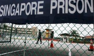 Changi prison, Singapore