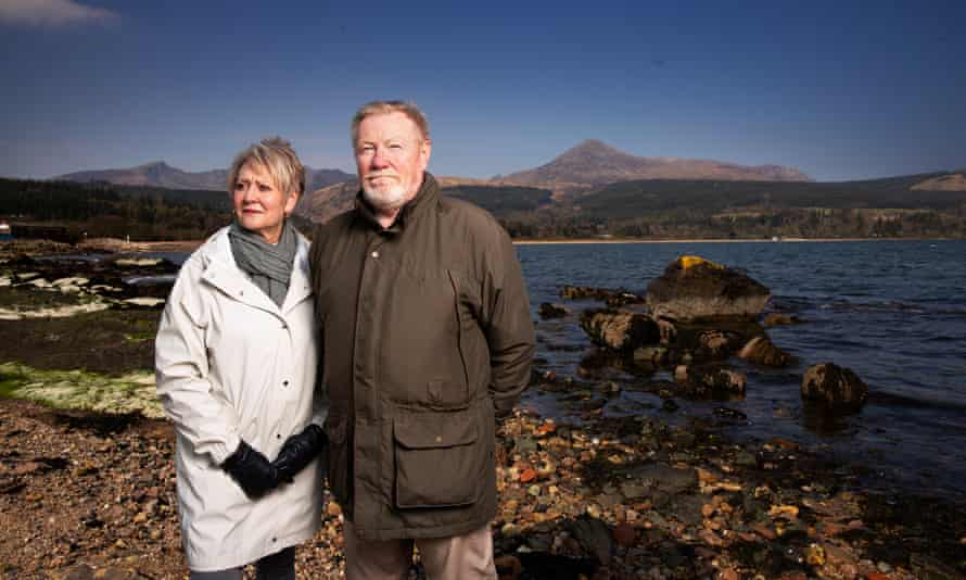 Tom Tracey and Sheena Borthwick-Toomey of the Arran Economic Group