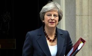 British Prime Minster Theresa May
