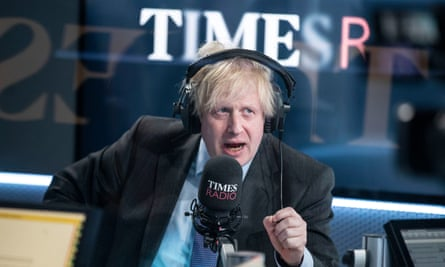 Boris Johnson granted the station his first live broadcast interview in months.