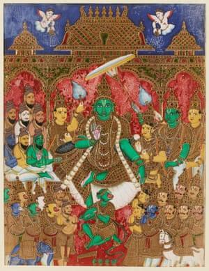 The coronation of Rama, Thanjavur (Tanjore), India