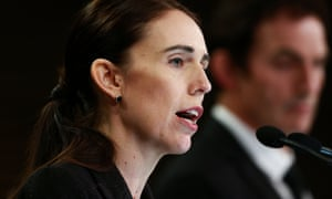 New Zealand's Prime Minister Jacinda Ardern who pledged after the Christchurch terror attack that gun laws would change.