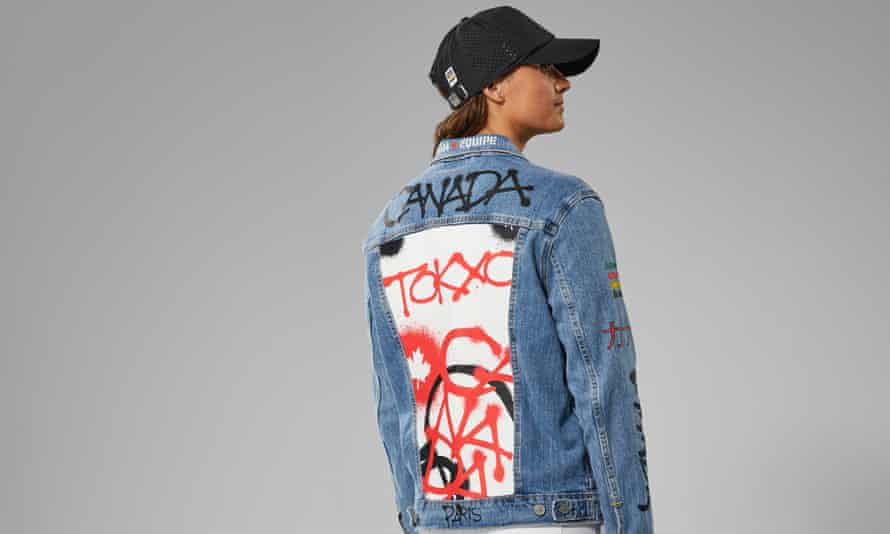 Team Canada's denim outfits for the Tokyo 2020 Games have turned some heads