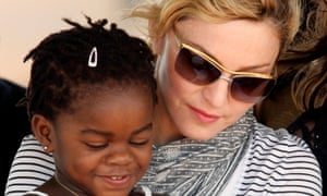 Madonna with Mercy James
