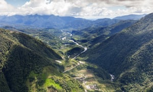 Pastaza Valley in the Andes. In 2008, Ecuador enshrined the rights of 'Mother Nature' in its constitution.