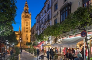 Seville, capital of Andalucía, has seen a surge of support for the Vox party in some districts.