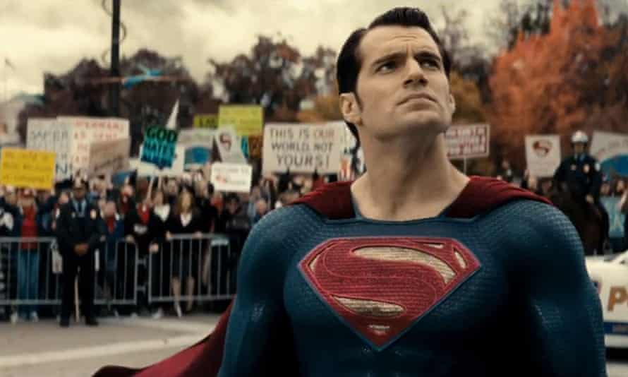 superman in dawn of justice