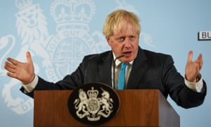 Boris Johnson's government was also accused of 'making it up as they go along'.
