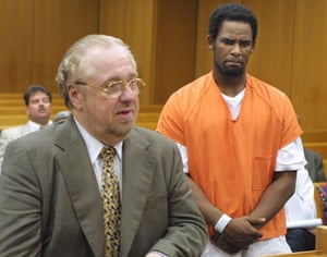 R Kelly in court in June 2002 in Bartow, Florida.
