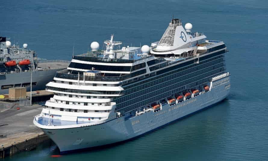 MS Marina cruise ship docks in Portland Port, Dorset, UK - 14 Aug 2016Mandatory Credit: Photo by Finbarr Webster/REX/Shutterstock (5828677c) MS Marina, Oceania-class cruise ship docks in Portland Port, Dorset, UK MS Marina cruise ship docks in Portland Port, Dorset, UK - 14 Aug 2016