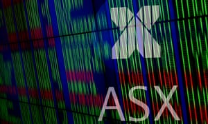 ASX sign and market boards
