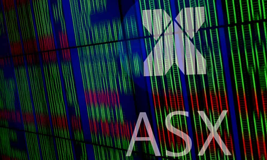 File photo of market boards at the Australian Stock Exchange (ASX) in Sydney