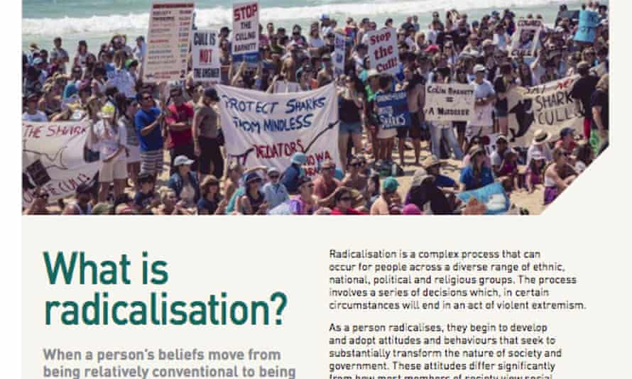 An excerpt from the Preventing Violent Extremism and Radicalisation in Australia booklet