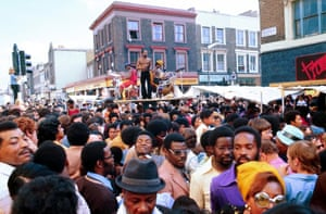 Notting Hill Carnival in 1975