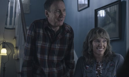 Toni Collette and David Thewlis in I'm Thinking of Ending Things.