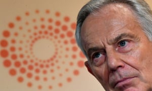 Tony Blair speaking at a Reuters Newsmaker event last month.
