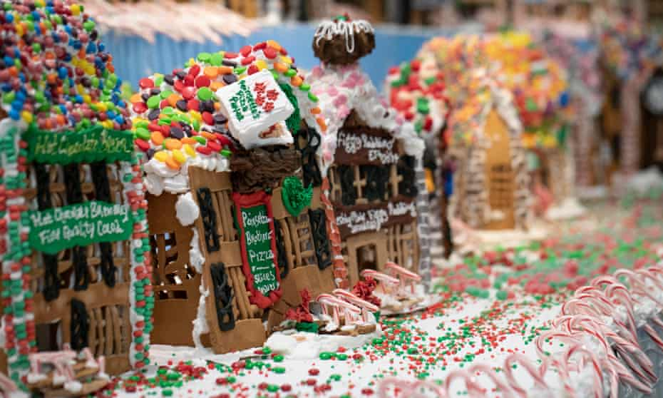 Jon Lovitch's GingerBread Lane, on this year at the New York Hall of Science.
