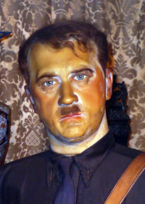 Waxwork of Adolf Hitler Louis Tussauds House of Wax Museum, Great Yarmouth, Norfolk, Britain