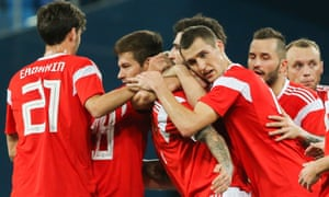Hosts Russia celebrated a 3-3 draw with Spain this week but have a squad of few stars