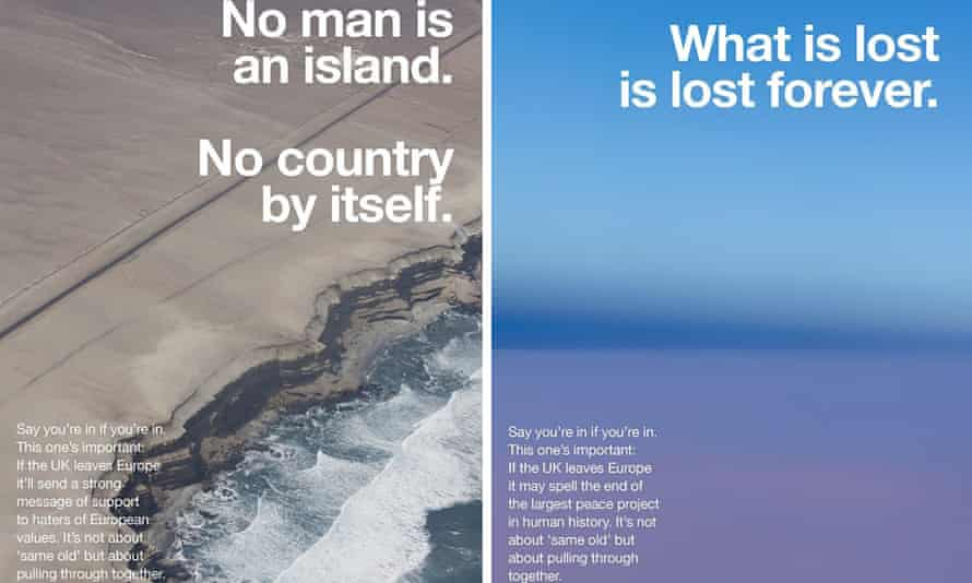 Anti-Brexit posters