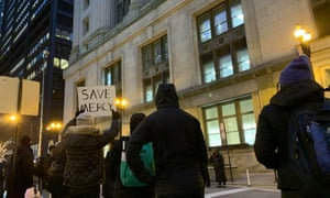 Activists and South Side residents have staged daily demonstrations to protest the closure of Mercy hospital.