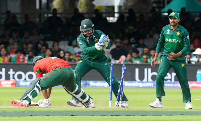 Pakistan beat Bangladesh by 94 runs at Cricket World Cup 2019 – as