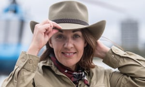 Kezia Dugdale in Australia for her appearance on I'm a Celebrity.