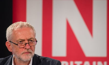 Jeremy Corbyn at Labour In for Britain event