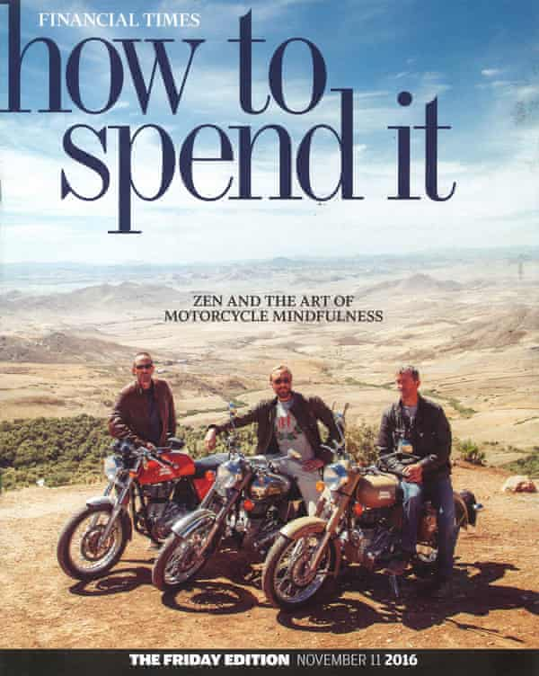 The 11 November 2016 cover of How to Spend It