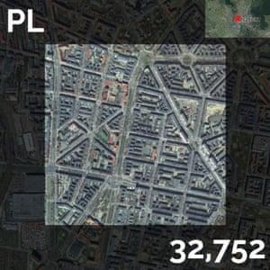 pl - population density maps - szczecin